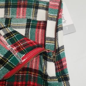 Carter's Bottoms - NWT Carter's Flannel Plaid Pleated Skirt